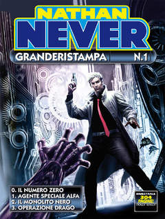 Copertina NATHAN NEVER GRANDERISTAMPA n.1 - Nathan Never Granderistampa n. 1, BONELLI EDITORE