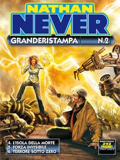 Copertina NATHAN NEVER GRANDERISTAMPA n.2 - Nathan Never Granderistampa n. 2, BONELLI EDITORE