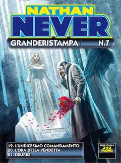 Copertina NATHAN NEVER GRANDERISTAMPA n.7 - Nathan Never Granderistampa n. 7, BONELLI EDITORE