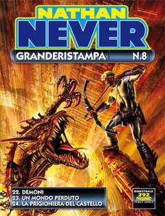 Copertina NATHAN NEVER GRANDERISTAMPA n.8 - Nathan Never Granderistampa n. 8, BONELLI EDITORE