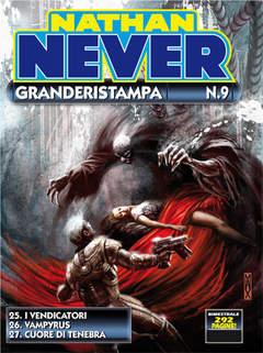 Copertina NATHAN NEVER GRANDERISTAMPA n.9 - Nathan Never GrandeRistampa n. 9, BONELLI EDITORE
