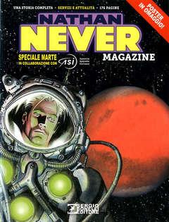 Copertina NATHAN NEVER MAGAZINE n.6 - 2020, BONELLI EDITORE