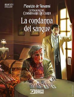 Copertina ROMANZI A FUMETTI BONELLI n.36 - La condanna del sangue, BONELLI EDITORE