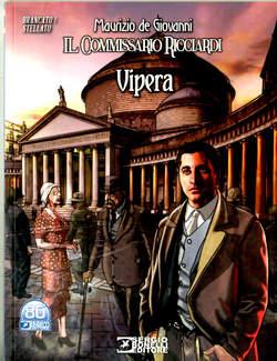 Copertina ROMANZI A FUMETTI BONELLI n.44 - COMMISSARIO RICCIARDI VIPERA, BONELLI EDITORE