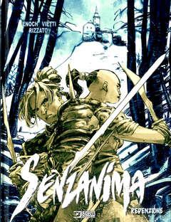 Copertina SENZANIMA #5 Variant n. - REDENZIONE - Variant MANICOMIX, BONELLI EDITORE
