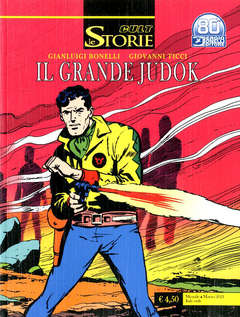 Copertina STORIE n.101 - IL GRANDE JUDOK, BONELLI EDITORE
