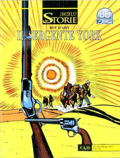 Copertina STORIE n.103 - IL SERGENTE YORK, BONELLI EDITORE