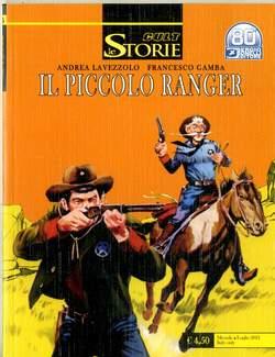 Copertina STORIE n.105 - IL PICCOLO RANGER: LOST VALLEY, BONELLI EDITORE
