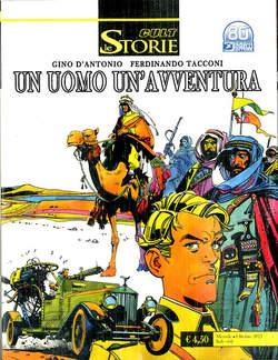Copertina STORIE n.108 - L'UOMO DEL DESERTO/ L'UOMO DI RANGOON, BONELLI EDITORE