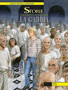 Copertina STORIE n.20 - La gabbia, BONELLI EDITORE