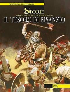 Copertina STORIE n.26 - Il tesoro di Bisanzio, BONELLI EDITORE