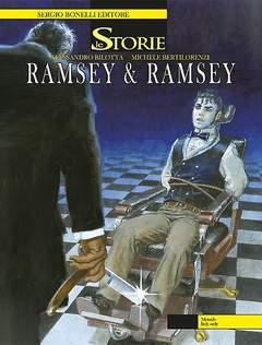 Copertina STORIE n.38 - Ramsey & Ramsey, BONELLI EDITORE