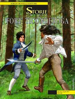 Copertina STORIE n.55 - FORT TICONDEROGA, BONELLI EDITORE
