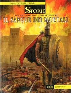 Copertina STORIE n.58 - IL SANGUE DEI MORTALI, BONELLI EDITORE