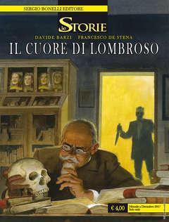 Copertina STORIE n.63 - IL CUORE DI LOMBROSO, BONELLI EDITORE