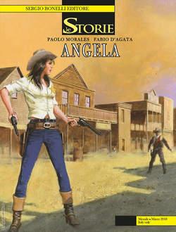 Copertina STORIE n.66 - Angela, BONELLI EDITORE