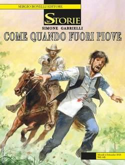 Copertina STORIE n.72 - Come Quando Fuori Piove, BONELLI EDITORE