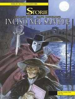 Copertina STORIE n.73 - Inciso nel sangue, BONELLI EDITORE