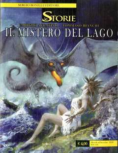Copertina STORIE n.75 - Il mistero del lago, BONELLI EDITORE