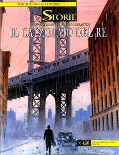 Copertina STORIE n.99 - IL CALZOLAIO DEL RE, BONELLI EDITORE
