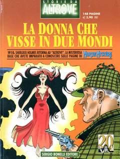 Copertina STORIE DA ALTROVE n.5 - LA DONNA CHE VISSE IN DUE MONDI, BONELLI EDITORE