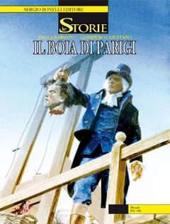 Copertina STORIE n.1 - IL BOIA DI PARIGI, BONELLI EDITORE