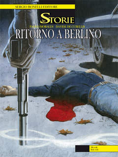 Copertina STORIE n.6 - RITORNO A BERLINO, BONELLI EDITORE