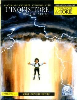 Copertina STORIE SPECIALE n.8 - L'INQUISITORE/DOPPIO INCUBO, BONELLI EDITORE
