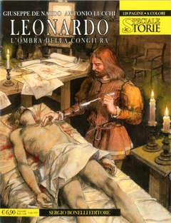 Copertina STORIE SPECIALE n.7 - LEONARDO: L'OMBRA DELLA CONGIURA, BONELLI EDITORE