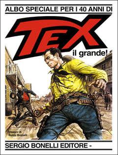 Copertina TEX ALBO SPECIALE n.1 - Tex il grande!, BONELLI EDITORE