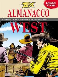 Copertina TEX ALMANACCO DEL WEST n.2009 - Capitan Blanco, BONELLI EDITORE