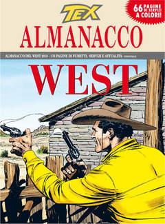 Copertina TEX ALMANACCO DEL WEST n.2010 - La banda dei messicani, BONELLI EDITORE