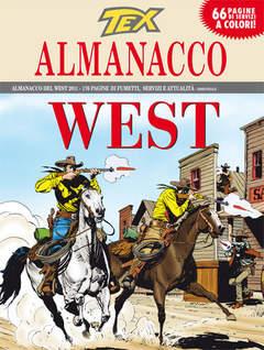 Copertina TEX ALMANACCO DEL WEST n.2011 - La città del Male, BONELLI EDITORE