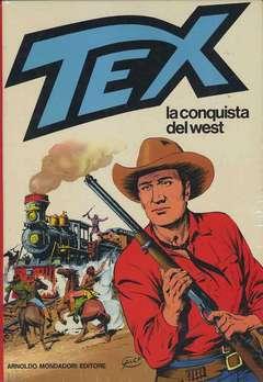 Copertina TEX cartonati n.7 - TEX E LA CONQUISTA DEL WEST, BONELLI EDITORE