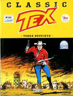 Copertina TEX CLASSIC n.115 - TERRA BRUCIATA, BONELLI EDITORE