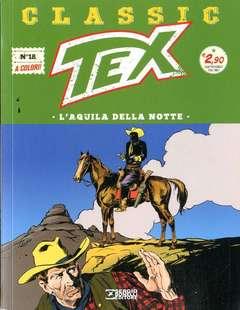 Copertina TEX CLASSIC n.18 - L'AQUILA DELLA NOTTE, BONELLI EDITORE