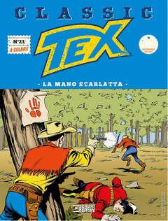 Copertina TEX CLASSIC n.23 - LA MANO SCARLATTA, BONELLI EDITORE