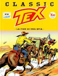 Copertina TEX CLASSIC n.82 - NELLE MANI DI VINDEX, BONELLI EDITORE