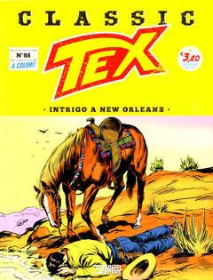 Copertina TEX CLASSIC n.88 - INTRIGO A NEW ORLEANS, BONELLI EDITORE