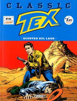Copertina TEX CLASSIC n.89 - SCONTRO SUL LAGO, BONELLI EDITORE