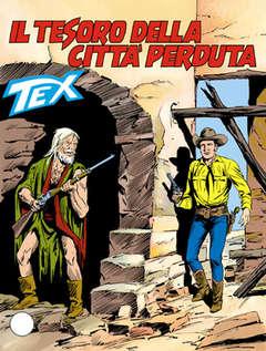 Copertina TEX GIGANTE n.358 - Il tesoro della città perduta, BONELLI EDITORE