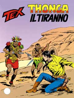 Copertina TEX GIGANTE n.372 - Thonga il tiranno, BONELLI EDITORE