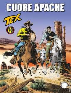 Copertina TEX GIGANTE n.691 - Cuore apache, BONELLI EDITORE