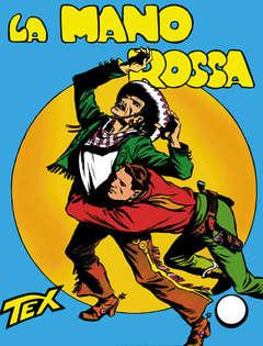 Copertina TEX GIGANTE n.1 - La Mano Rossa, BONELLI EDITORE