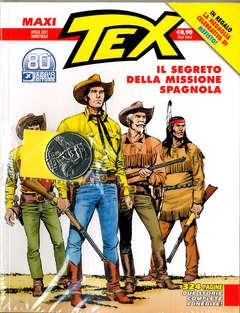 Copertina TEX MAXI n.28 - IL SEGRETO DELLA MISSIONE SPAGNOLA (+ Med MEFISTO), BONELLI EDITORE