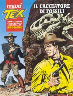 Copertina TEX MAXI n.2 - Il cacciatore di fossili, BONELLI EDITORE