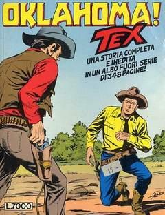 Copertina TEX MAXI n.1 - Oklahoma!, BONELLI EDITORE