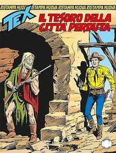 Copertina TEX NUOVA RISTAMPA n.358 - Il tesoro della città perduta, BONELLI EDITORE