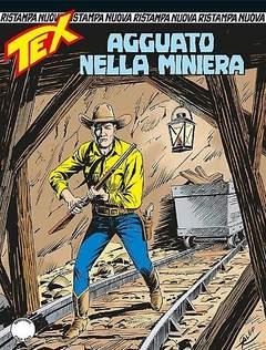 Copertina TEX NUOVA RISTAMPA n.367 - Agguato nella miniera, BONELLI EDITORE