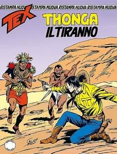 Copertina TEX NUOVA RISTAMPA n.372 - Thonga il tiranno, BONELLI EDITORE